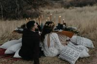 Moody Bohemian Elopement | Featured on Green Wedding Shoes