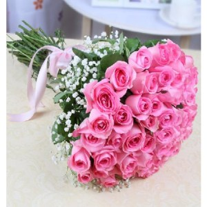 CF 20 Pink Roses Bouquet