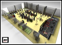 Home Gym Design Layout