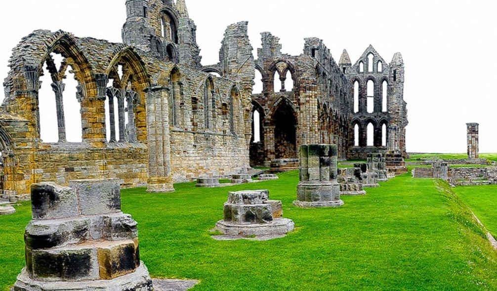 Whitby Abbey, England, UK