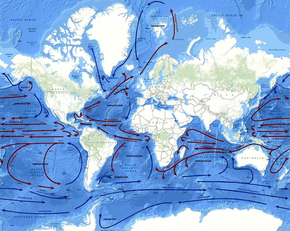 Trade Winds Currents For Economical Ocean Navigation And