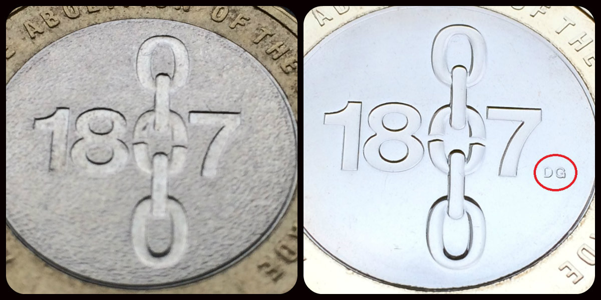 slave trade c2a32 compare - Always 'Pemember' the facts about rare £2 coins