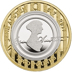 jane austen - UPDATED: Commemorative 50p Coin Mintages