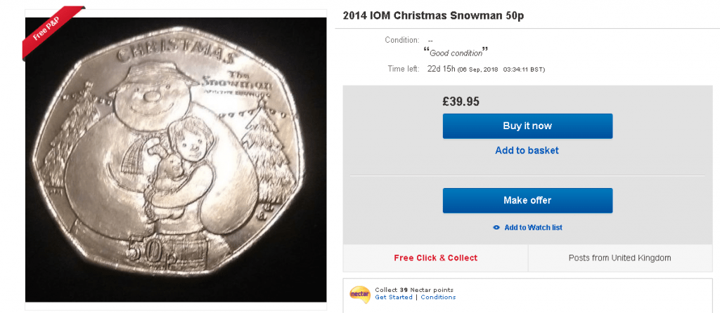 The Snowman 50p Coin - what we know so far...