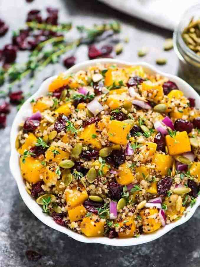 easy fall salads