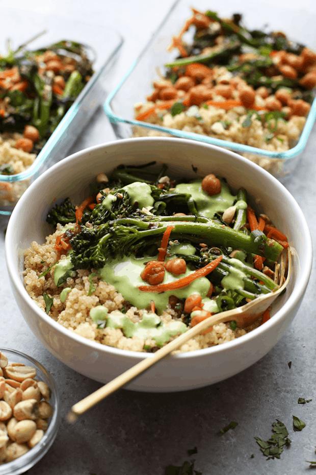 High Protein Vegan Meal Prep