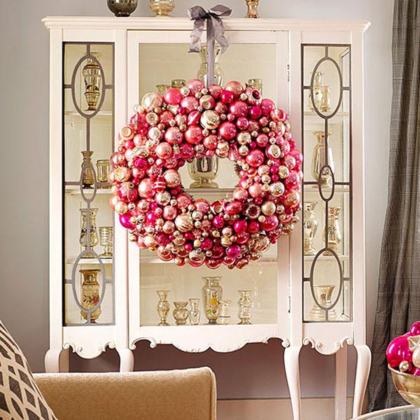 indoor furniture wreath displays in kansas city