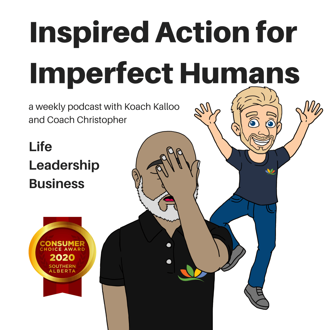 Image for Inspired Action for Imperfect Humans Podcast
