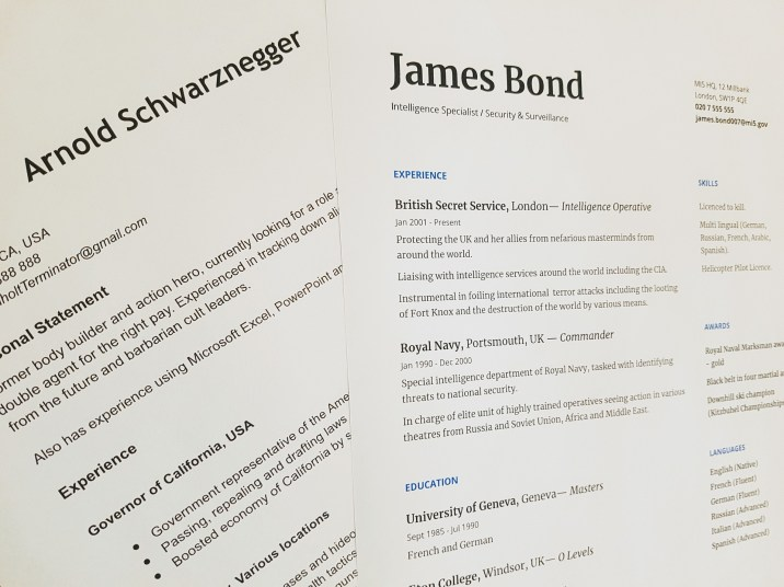 Your resume is your brand