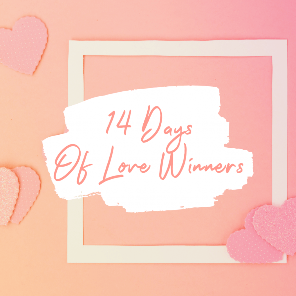14 days of love winner title card