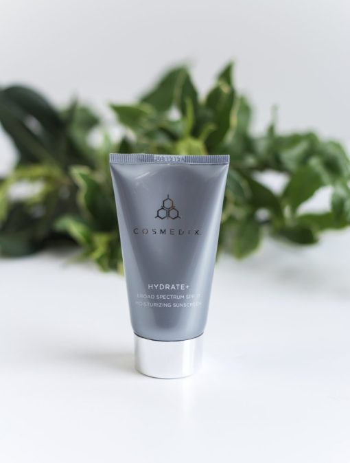 Cosmedix Skincare Hydrate Plus Broad Spectrum SPF 17 Moisturizing Cream Sunscreen