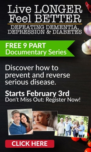 Defeating Dementia, Depression & Diabetes