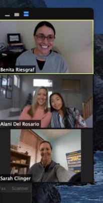 Benita's team meeting