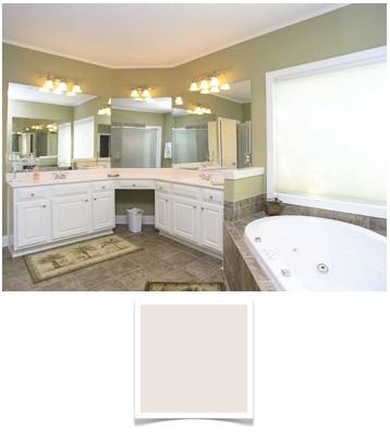 foggy-morning-gray bathroom paint color 2
