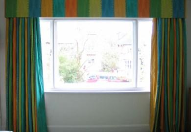 Modern Curtains Orange
