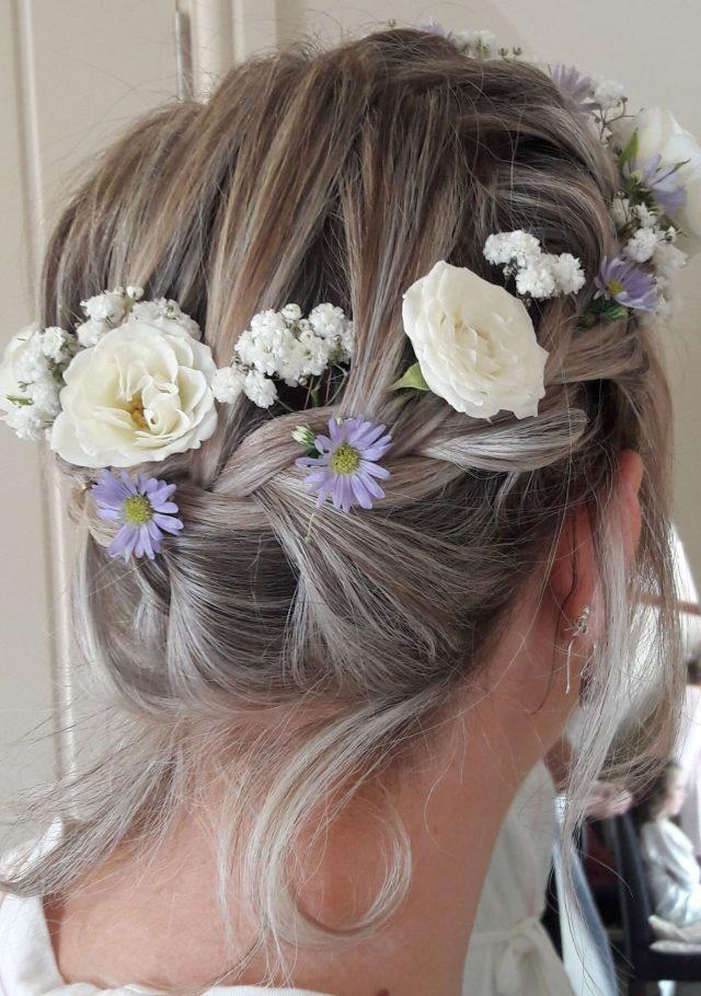 wedding hair - bridal mobile hairdressers, devon