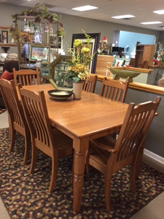 dining room sets 6 chairs chair meditation posture amish haus oak set with and 2 leaves changing places