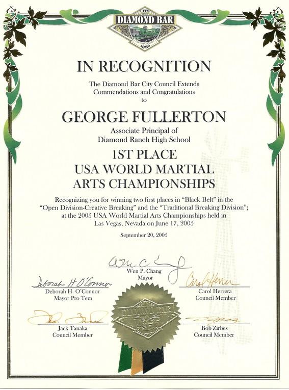 George Fullerton Resume