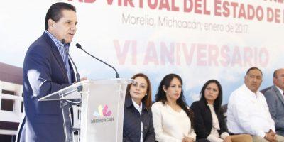 #Michoacán Inaugura Silvano Instalaciones De La Universidad Virtual