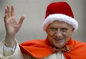 benedicto XVI navidad