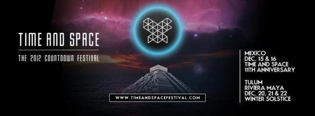 Maia Records y Changoonga.com te regalan cortesías para el Time and Space Festival 2012