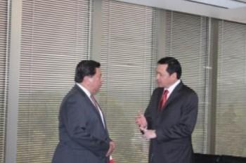 Osorio Chong se reúne con Jesús Reyna; refrenda apoyo total a Michoacán
