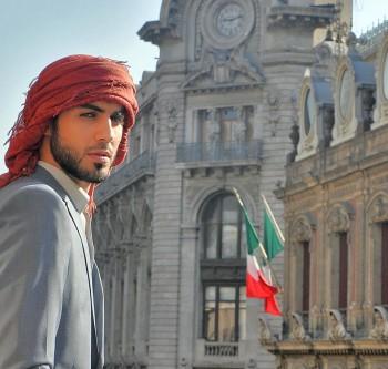 Árabe guapo