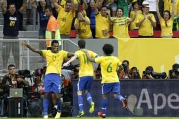 brasil festeja confederaciones