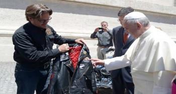 papa Francisco Harley