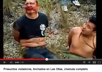 violadores chiapas video