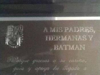 Gracias Batman