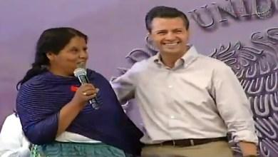 Peña Nieto rompe corazones en Chilchota Michoacán (2)