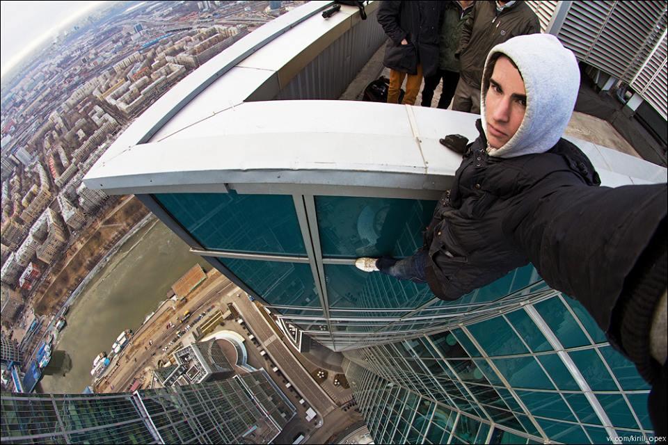 selfie extrema de Kirill Oreshkin 7