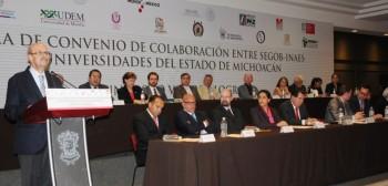 Fausto Vallejo convenio