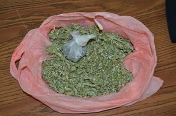 marihuana decomisada bolsa