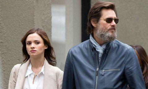 Jim Carrey y su ex novia Cathriona White