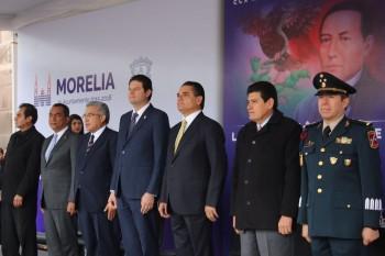 Silvano Aureoles-CCX Aniversario del natalicio de Benito Juárez