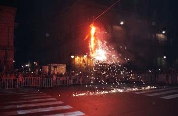 quema de judas en morelia