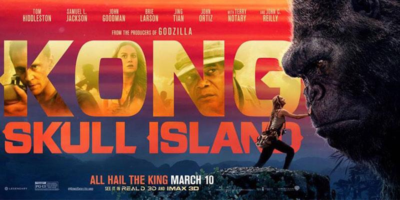 El-Rey-De-La-Selva,-Kong-Abarrotando-Taquillas-En-El-Cine