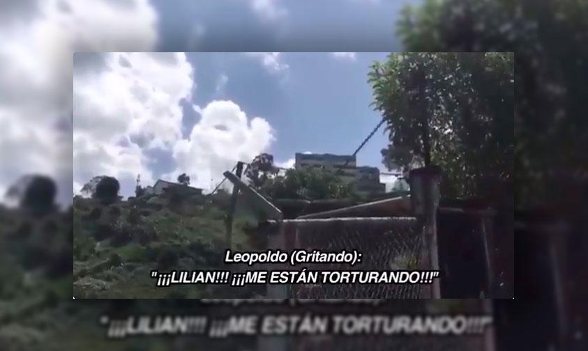 """#VIDEO """"¡Me Están Torturando! ¡Denuncien!"""" Grita Leopoldo López Desde La Prisión"""
