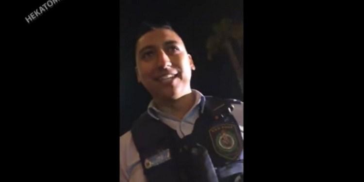 policia Chile Australia