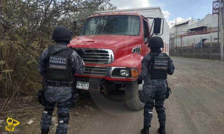 Gendarmeria Gasolina Decomisada