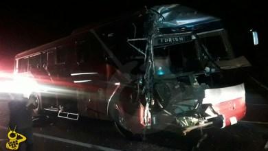 Salvador EScalante accidente autobus