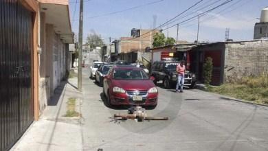 hombre muerto Morelia