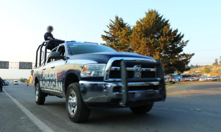 Patrulla Policia Michoacan