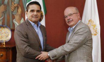 Silvano Aureoles y José Zozaya 11