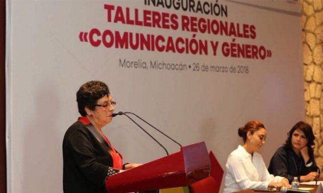 equidad de género Michoacán periodistas