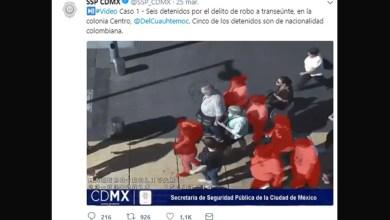 salivazos robar peatones Ciudad de México