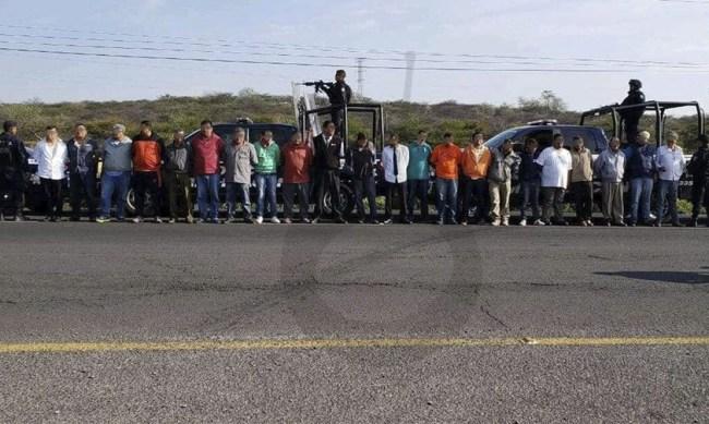 22 detenidos libres bloqueo La Piedad