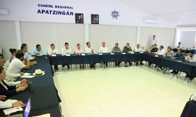 confianza seguridad Michoacán Silvano Aureoles